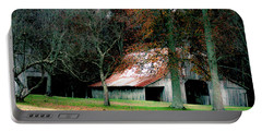 Autumn Barn In Alabama Portable Battery Charger