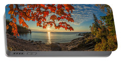 Autumn Bay Near Shovel Point Portable Battery Charger