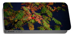 Portable Battery Charger featuring the photograph Autumn Berries by RKAB Works