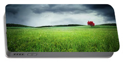 Portable Battery Charger featuring the photograph Autumn by Bess Hamiti