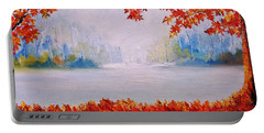 Autumn Blaze Maple Trees Portable Battery Charger