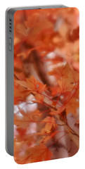 Portable Battery Charger featuring the photograph Autumn Blush by Diane Alexander