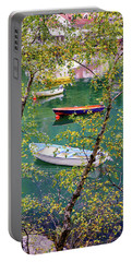 Autumn. Boats Portable Battery Charger