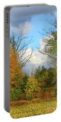 Autumn Breeze Nature Art Portable Battery Charger
