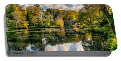 Autumn Bridge Portable Battery Charger by Adrian Evans