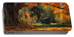 Autumn Brilliance Portable Battery Charger by Tricia Marchlik
