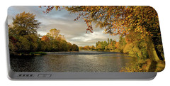 Autumn By The River Ness Portable Battery Charger by Jacqi Elmslie