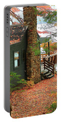 Autumn Cabin Portable Battery Charger