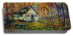 Autumn Cabin Trip Portable Battery Charger