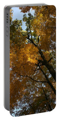 Portable Battery Charger featuring the photograph Autumn Canopy by Shari Jardina