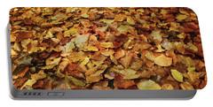 Autumn Carpet Portable Battery Charger