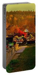Autumn Cemetery Portable Battery Charger
