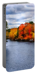 Autumn Channel Portable Battery Charger
