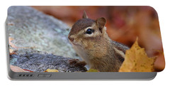 Autumn Chipmunk Portable Battery Charger