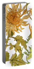 Autumn Chrysanthemums I Portable Battery Charger