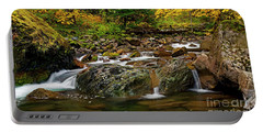 Autumn Clear Portable Battery Charger