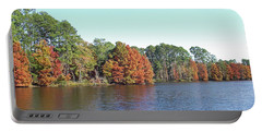 Autumn Color At Ratcliff Lake Portable Battery Charger