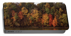 Autumn Color In The Ozarks, Southwest Missouri Usa Portable Battery Charger