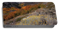 Autumn Colors At Mcgee Creek Canyon In The Eastern Sierras Portable Battery Charger