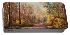 Autumn Colors Portable Battery Charger by Bonnie Mason