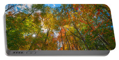 Autumn Colors  Portable Battery Charger by Michael Ver Sprill