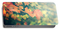 Portable Battery Charger featuring the photograph Autumn Colors by Rebecca Davis