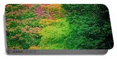 Autumn Colors On Acer Tree Leafs Portable Battery Charger