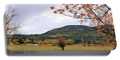 Autumn Country View Portable Battery Charger