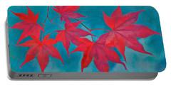 Autumn Crimson Portable Battery Charger