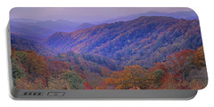Autumn Deciduous Forest Great Smoky Portable Battery Charger