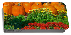 Autumn Display Portable Battery Charger by Betty LaRue