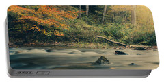 Portable Battery Charger featuring the photograph Autumn Dreamscape by Shane Holsclaw