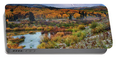 Autumn Dusting Portable Battery Charger