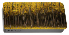 Autumn Fantasy Portable Battery Charger by Bjorn Burton