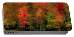 Autumn Fence Line Portable Battery Charger