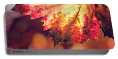 Autumn Fire Portable Battery Charger by Melanie Alexandra Price