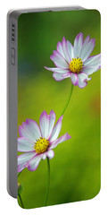 Portable Battery Charger featuring the photograph Autumn Flowers by Byron Varvarigos