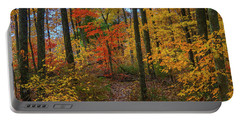 Autumn Forest Hike Portable Battery Charger