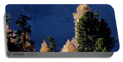 Autumn Forest In The Mountains Portable Battery Charger
