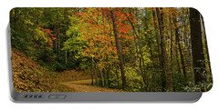 Autumn Forest Road. Portable Battery Charger