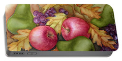 Autumn Fruit Still Life Portable Battery Charger