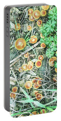 Autumn Fungal Plants Portable Battery Charger