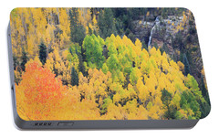 Portable Battery Charger featuring the photograph Autumn Glory by David Chandler