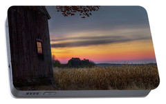Portable Battery Charger featuring the photograph Autumn Glow by Bill Wakeley
