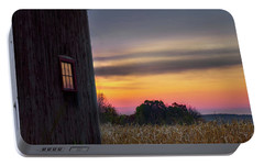 Portable Battery Charger featuring the photograph Autumn Glow Square by Bill Wakeley