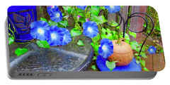 Autumn Heavenly Blues  Portable Battery Charger