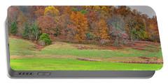 Autumn Hillside Portable Battery Charger