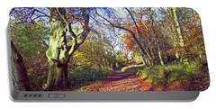 Autumn In Ashridge Portable Battery Charger by Anne Kotan