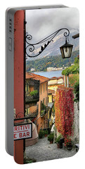 Autumn In Bellagio Portable Battery Charger by Jennie Breeze