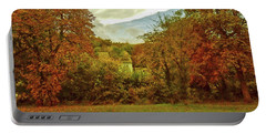 Portable Battery Charger featuring the photograph Autumn In Chesham by Anne Kotan